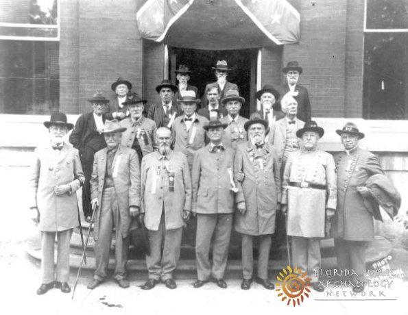 Confederate Veterans, Gainesville 1925
