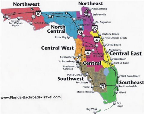 Florida Travel Guide All 8 Regions of the Sunshine State