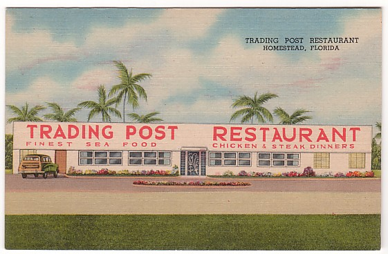 Vintage Postcard Homestead, Florida