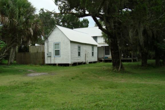 Smith homestead at Honest John's Fish Camp.