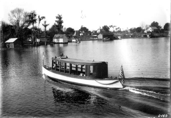 Indian Princess on Lake Santa Fe, State Archives, Florida Memory, https://floridamemory.com/items/show/39664