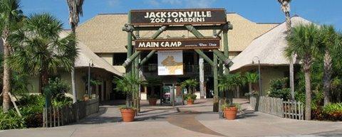 Jacksonville Zoo Entrance