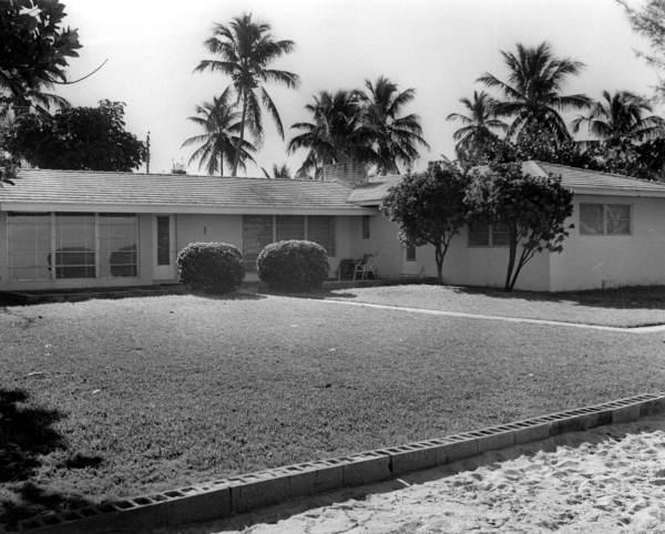 Nixon Home on Key Biscayne