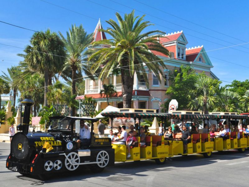 The Conch Train in Key West