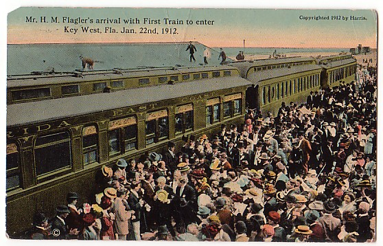 First Train To Key West 1912