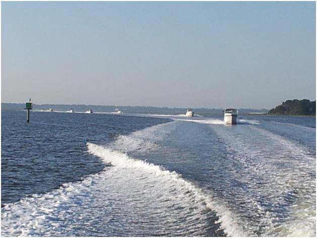 A Parade of Boats:  Kissimmee Boat A Cade