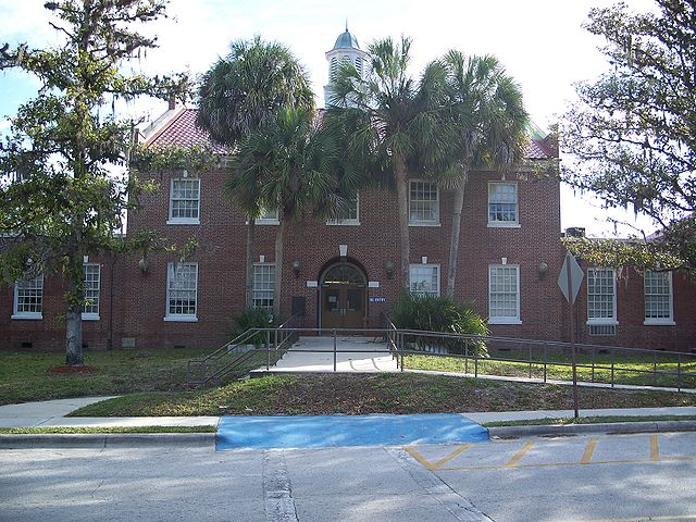 Bronson, Florida, Levy County Courthouse