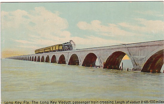Vintage Postcard Long Key, Florida