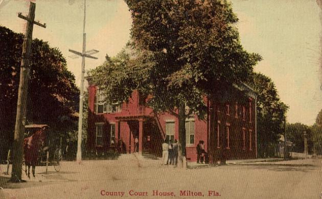 Santa Rosa County Courthouse, 1877, Milton, Florida