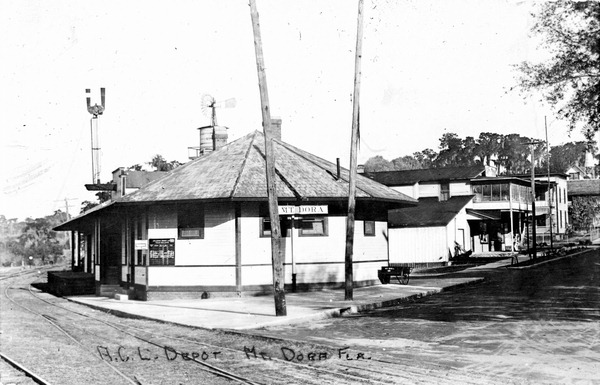 Mount Dora Railroad Station is Now the Chamber of Commerce