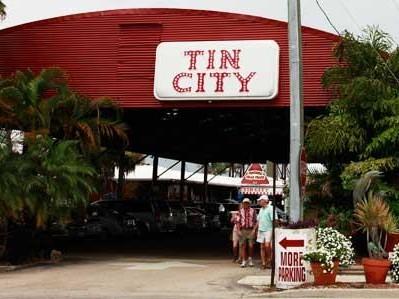 Tin City Old Naples Florida