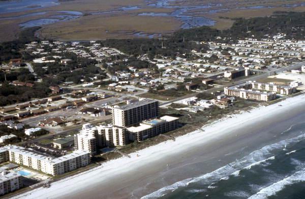 New Smyrna Beach Aerial View