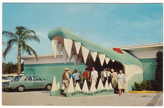 Vintage Postcard Orlando, Florida
