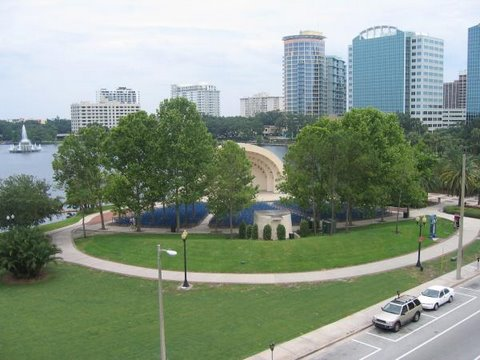 Orlando Florida Eola Park