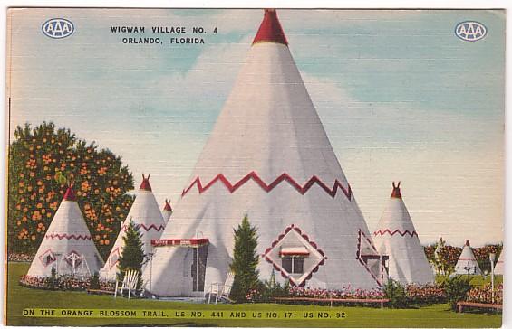 Vintage Postcard, Orlando, Florida