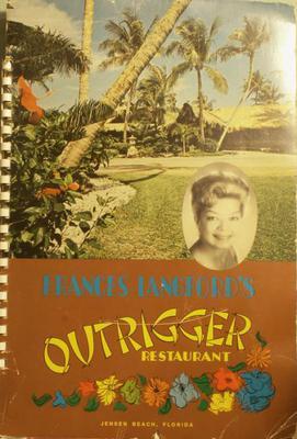 Outrigger Resort Menu