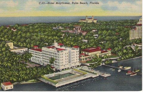 Vintage Postcard Palm Beach, Florida