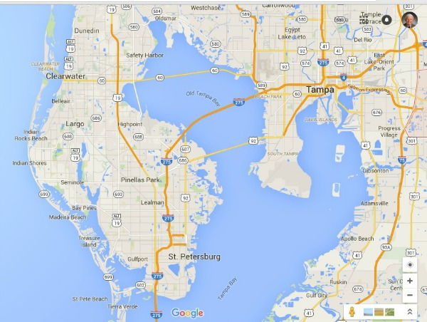 Pinellas County Map Florida.Pinellas County Beaches Sparkling White Sand On The Gulf Of Mexico