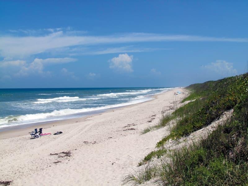 Playalinda Beach Looking South