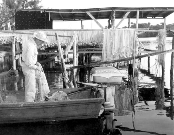 Port Salerno Fisherman from Florida State Archives