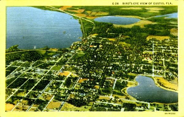 Vintage Postcard Eustis, Florida