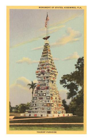 Vintage Postcard Kissimmee, Florida