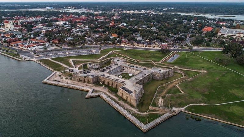 Castillo San Marcos and Downtown St Augustine