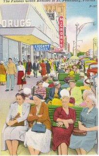 St Pete Florida Vintage Postcard