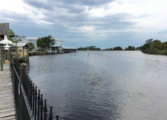 Salt Creek in Suwannee, Florida