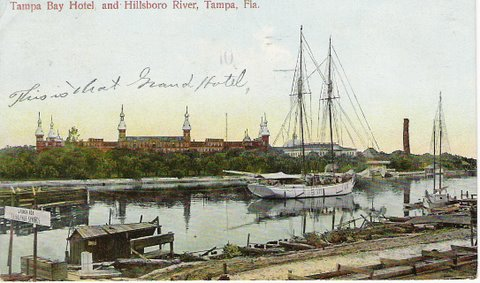 Tampa Bay Hotel Postcard