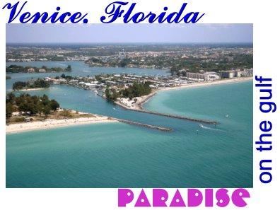 Venice Florida Postcard