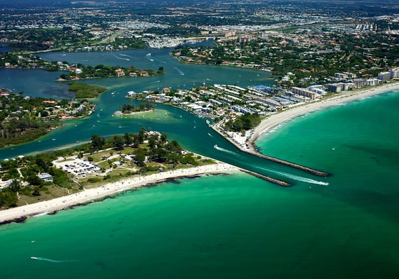 Venice Inlet on the Florida Gulf