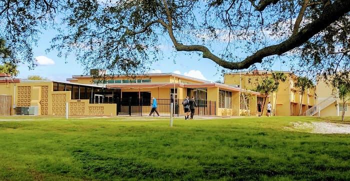 Hammock Area at Webber International University