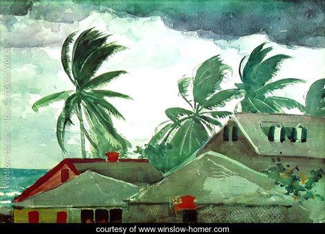 Florida Festivals:  Winslow Homer Storm