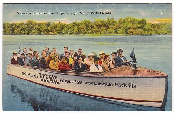 Winter Park Florida Boat Tours