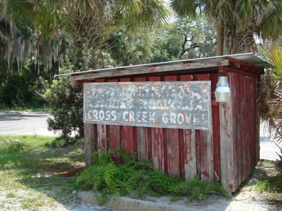 Cross Creek, Florida Old Shed