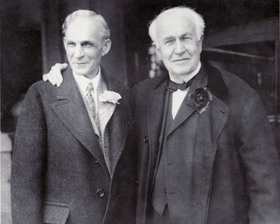 Henry Ford and Thomas Edison