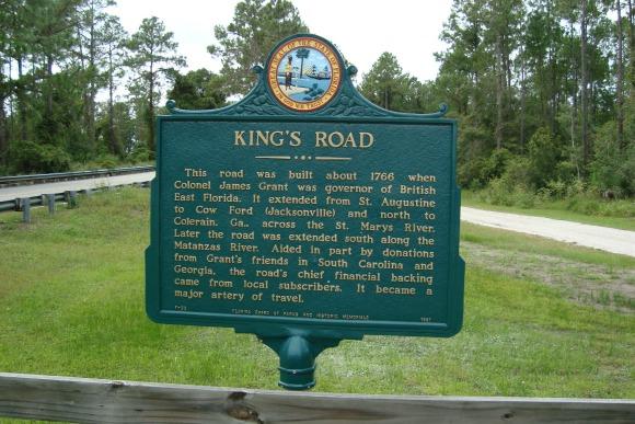 Kings Road Near Princess Place Preserve