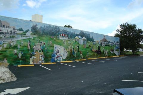 Lake Placid Florida Mural
