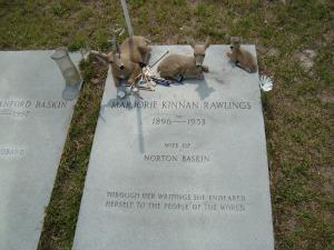 Majorie Kinnan Rawlings Grave Near Cross Creek, Florida