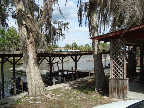 Waterfront at a Florida Fish Camp