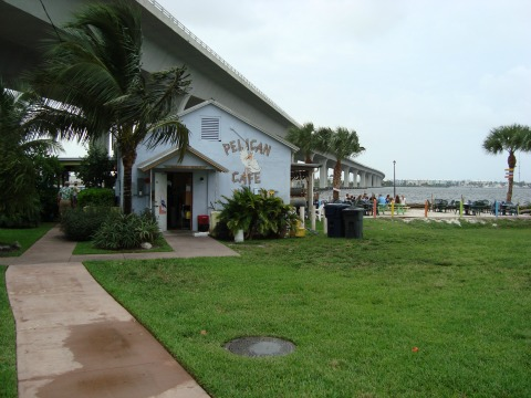 Pelican Cafe and Beach