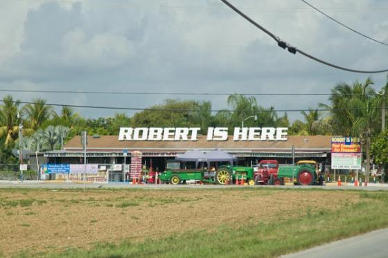 Robert Is Here