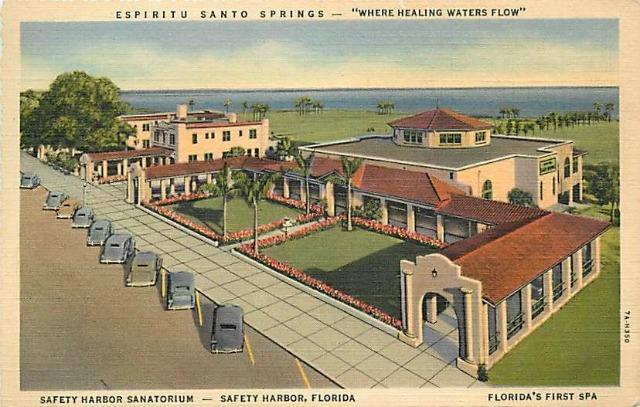 Vintage Postcard Safety Harbor, Florida