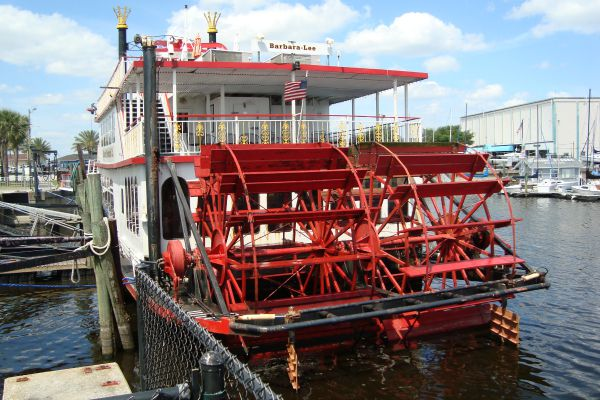Riverboat in Sanford, Florida