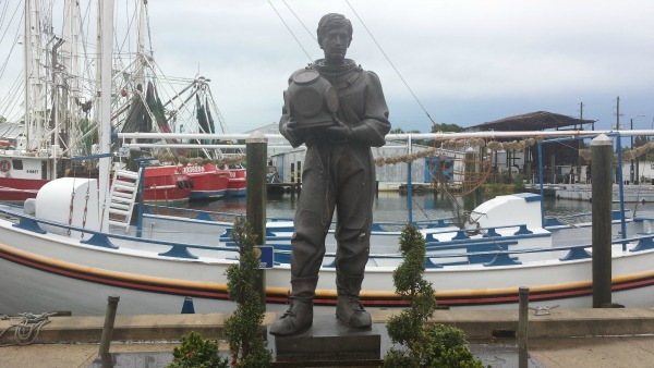 Sponge Diver Statue, Tarpon Springs