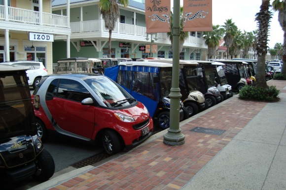 The Villages Florida Golf Carts