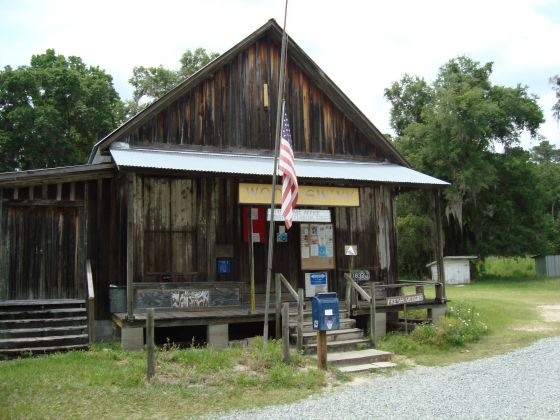 Wood and Swink Store in Evinston Florida